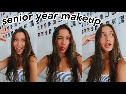 Doing My Makeup For Senior Year + Macbook Giveaway