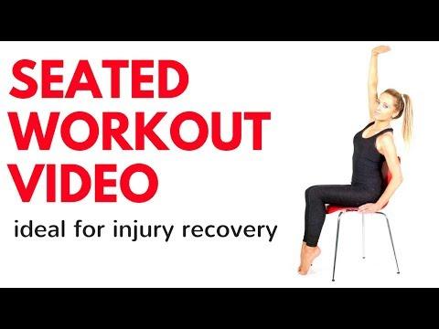 부상 회복에 도움이 되는 의자 운동