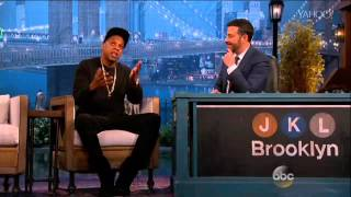 Video Jay Z's Mega Surprise for Entire 'Jimmy Kimmel Live' Audience MP3, 3GP, MP4, WEBM, AVI, FLV Agustus 2018