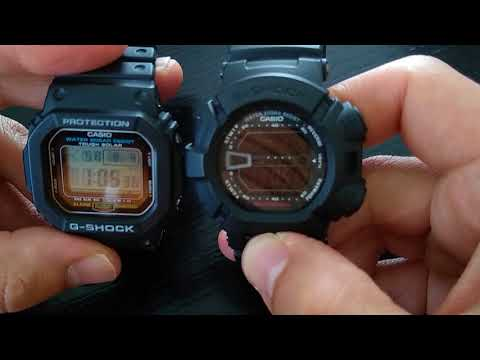 Casio G-Shock G-5600 Review, Comparison With Mudman G-9000 And DW-6900