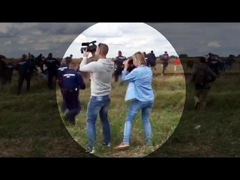 Ουγγαρία: Απολύθηκε η εικονολήπτρια που κλοτσούσε μετανάστες