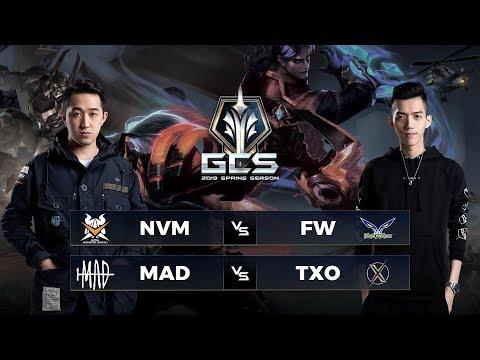 NVM vs FW | MAD vs TXO - Tuần 10 Ngày 1 - GCS Mùa Xuân 2019 - Thời lượng: 5:35:13.
