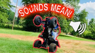10. Yamaha Raptor 700r SOUND TEST!!