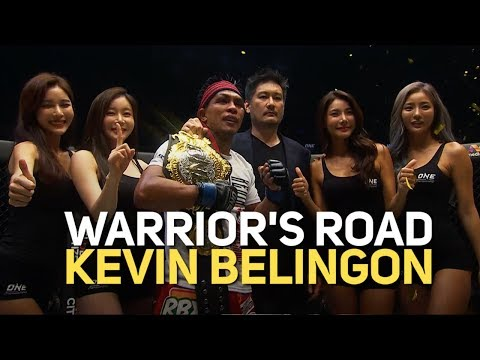 Kevin Belingon's 2018 Full Fights   ONE: Warrior's Road