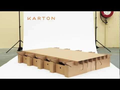 video anleitung wie man sich m bel aus karton bauen kann klonblog. Black Bedroom Furniture Sets. Home Design Ideas