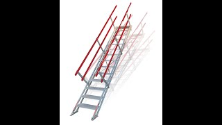 AdjustaStairs - Portable Self-Levelling Stairs