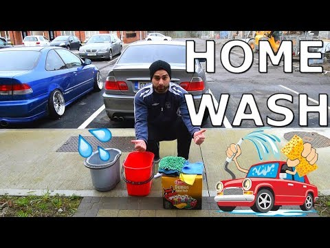 How To Wash Your Car at Home (Bmw E46 320ci)