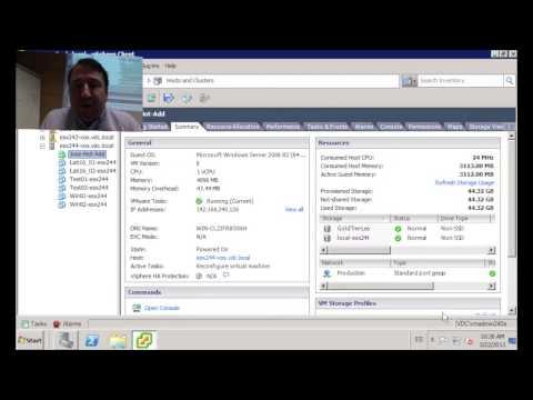 ¿Como añadir CPU y memoria en caliente a tu máquina virtual?