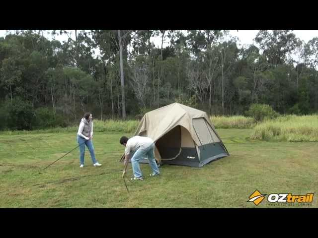 Oztrail Fast Frame Tent Series - 240/300 Setup