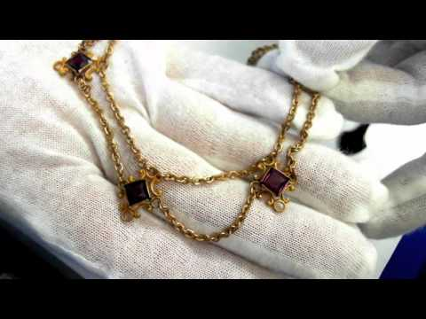 A pair of Vintage Necklaces - One Victorian and one Art Deco