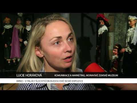 TV Brno 1: 4.12.2017 V Paláci šlechtičen budou dvě nové expozice