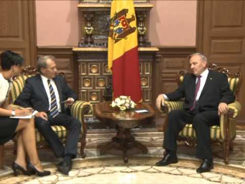 Николае Тимофти провел встречу с председателем парламента Швеции Пером Вестербергом