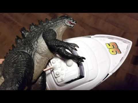 Godzilla and rexy season 7 episode 43 under attack