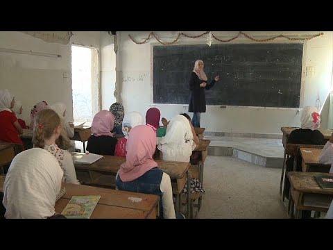 Συρία: Τα παιδιά επιστρέφουν στα σχολεία στην πόλη Ντούμα…