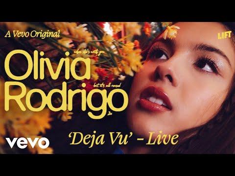 Olivia Rodrigo - deja vu (Live Performance) | Vevo LIFT