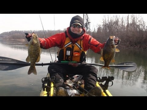 Soft jerkbaits for cold water smallmouth