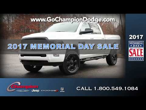 2017 JEEP & DODGE Memorial Day Sale - Los Angeles, Cerritos, Downey - RAM & CHRYSLER