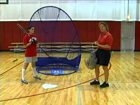 Quick Bounce Indoor Fastpitch Softball Hitting Drill