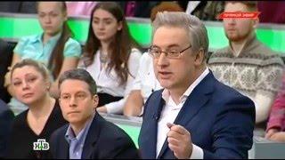 Алексей Журавлёв в программе «Место встречи» (НТВ, 29.02.2016)
