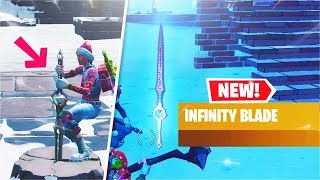 *NEW* Infinity Blade Weapon Gameplay! All Abilities! (Fortnite)