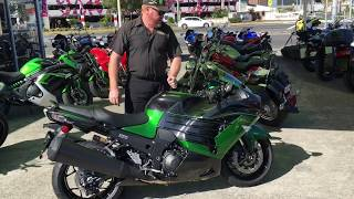 4. 2018 Kawasaki Ninja ZX-14R Ninja Quick look and sound