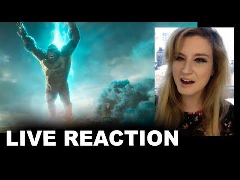 Godzilla vs Kong Trailer REACTION