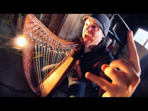 Playing Metal With A Harp