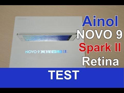 Ainol Novo 9 Spark II Retina : Test