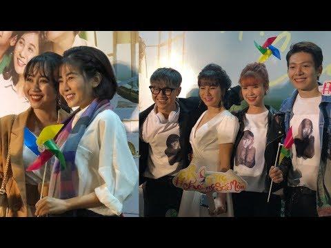 Khởi My sánh đôi Kelvin Khánh, Mai Phương tươi cười đến mừng phim Kiều Minh Tuấn Cát Phượng - Thời lượng: 3 phút, 38 giây.
