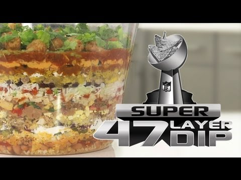 47-Layer Dip For the Super Bowl – Too Much, Or Just Enough?