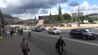 Riding in Copenhagen