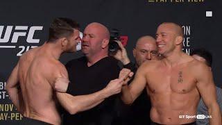 Video UFC 217 weigh-ins and face-offs: Bisping v GSP MP3, 3GP, MP4, WEBM, AVI, FLV September 2018
