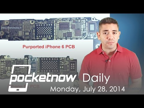 iPhone 6 hardware upgrades, Moto/Google Nexus phablet, HTC One W8 & more – Pocketnow Daily