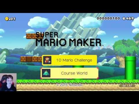 Super Mario Maker - 100 Man Super Expert (no skips) #11 (видео)