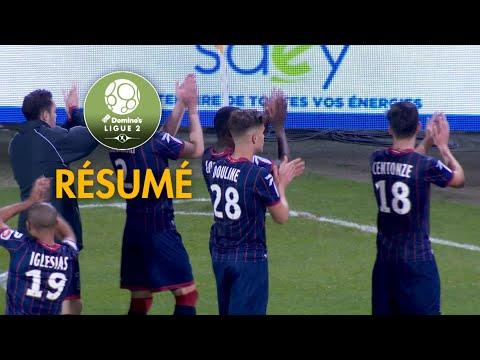 AJ Auxerre - Clermont Foot ( 1-2 ) - Résumé - (AJA - CF63) / 2017-18