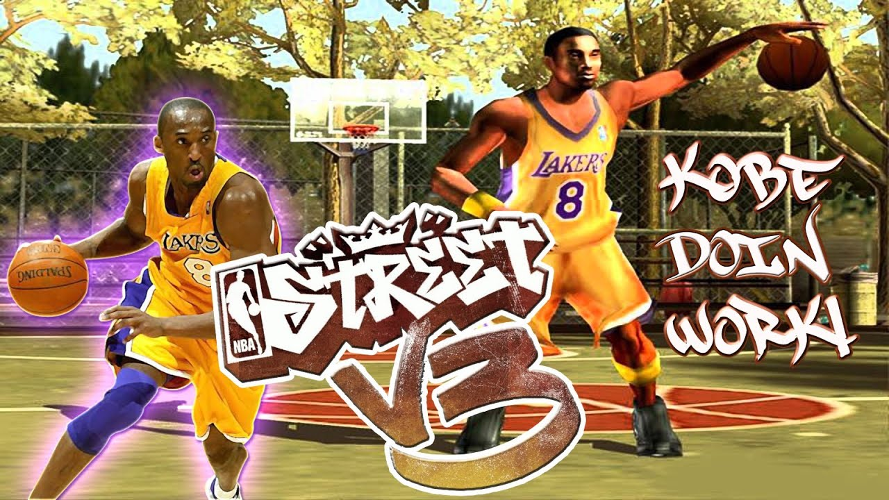 NBA Street V3 – (XBOX) – Bonus Video #3 – Kobe Doing Work!