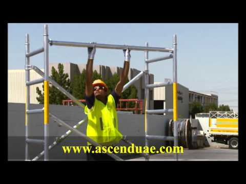Foldable Scaffold Tower