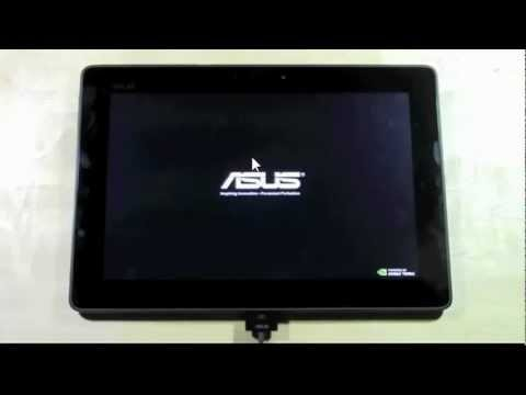 Factory Data Reset on the ASUS Transformer
