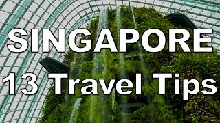 Video 13 Tips for an AWESOME Trip to Singapore MP3, 3GP, MP4, WEBM, AVI, FLV Desember 2018