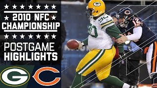 Packers Beat Bears in 2010 NFC Championship (Full Highlights) | NFL by NFL
