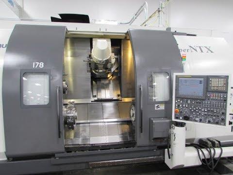 Nakamura Tome Super NTX CNC Machining Center (видео)