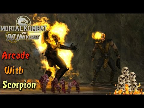 Mortal Kombat VS DC Universe Playthrough - Scorpion