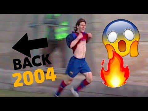 Video inédito: Así jugaba Lionel Messi a los 16 años