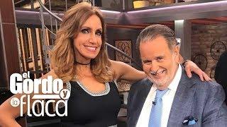 Regresa Lili Estefan al set de El Gordo y La Flaca