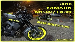 7. NEW BIKE??? 2018 Yamaha MT-09 / FZ-09 (Night Fluo) | First Ride