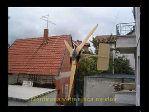 Izrada vetrenjače za Milana iz Paraćina