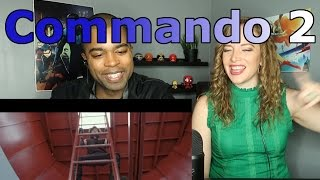 image of Commando 2 Official Trailer Vidyut Jammwal Adah Sharma Esha Gupta Freddy 3rd March 2017 (Reaction 🔥)