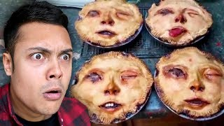 Video she made a PIE from HUMAN FACES !?! (Reacting To Memes) MP3, 3GP, MP4, WEBM, AVI, FLV Oktober 2018