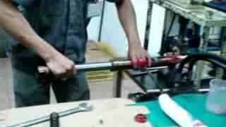 8. Fast Ace Forks Oil Change Part 1.
