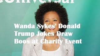 u202au202aDonald Trumpu202c, u202aWanda Sykesu202cu202c Wanda Sykes' Donald Trump Jokes Draw Boos at Charity Event
